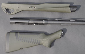 Benelli Vinci Broken Into Parts